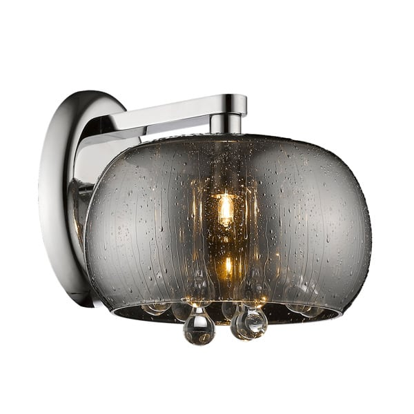 LAMPA WEWNĘTRZNA (KINKIET) ZUMA LINE RAIN WALL W0076-01D-F4K9