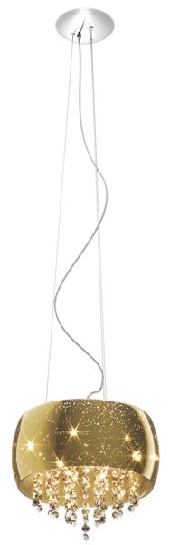 LAMPA WEWNĘTRZNA (WISZĄCA) ZUMA LINE VISTA PENDANT P0076-05K (gold)