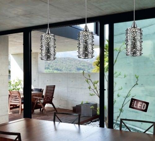 Modernistyczna lampa wiszaca zuma line gianna pendant 1 l