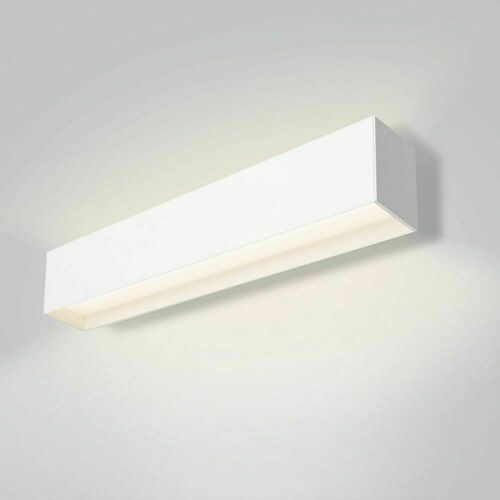 Liniowa lampa ścienna góra/dół z dystansem LUPINUS/K HQ UP D 116 L-2910 DP