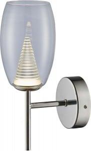 LAMPA WEWNĘTRZNA (KINKIET) ZUMA LINE ENZO WALL MB1622-1 (CLEAR) small 0