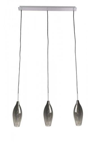 LAMPA WEWNĘTRZNA (WISZĄCA) ZUMA LINE CHAMPAGNE PENDANT MD2101B-3S (smoky)