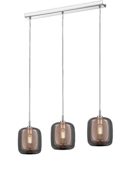 LAMPA WEWNĘTRZNA (WISZĄCA) ZUMA LINE DONATO PENDANT P0310-03H-B5GP