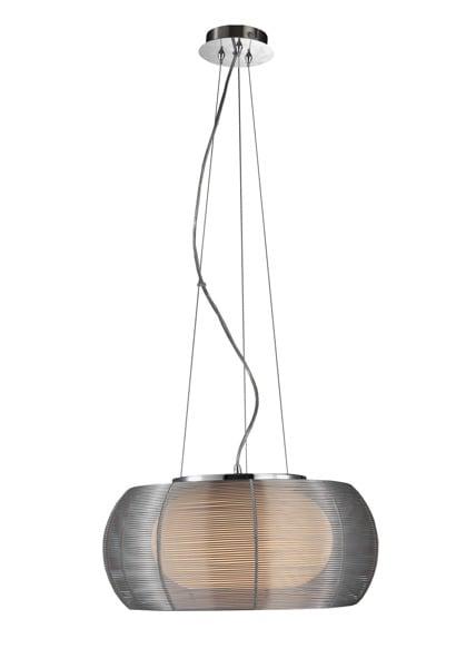 LAMPA WEWNĘTRZNA (WISZĄCA) ZUMA LINE TANGO PENDANT MD1104-2 (silver) - Srebrny