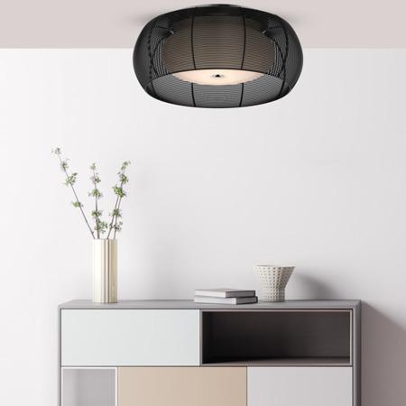 LAMPA WEWNĘTRZNA (SUFITOWA) ZUMA LINE TANGO CEILING MX1104-2L (black)