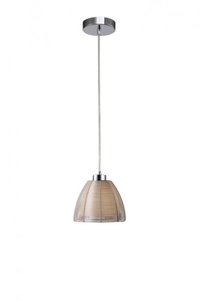 LAMPA WEWNĘTRZNA (WISZĄCA) ZUMA LINE PICO PENDANT MD9023-1S (silver) - Srebrny