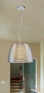 LAMPA WEWNĘTRZNA (WISZĄCA) ZUMA LINE FILO PENDANT MD1452-1L (silver) small 1