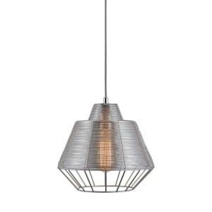 LAMPA WEWNĘTRZNA (WISZĄCA) ZUMA LINE WIRE PENDANT MD1712-1B-Silver small 1