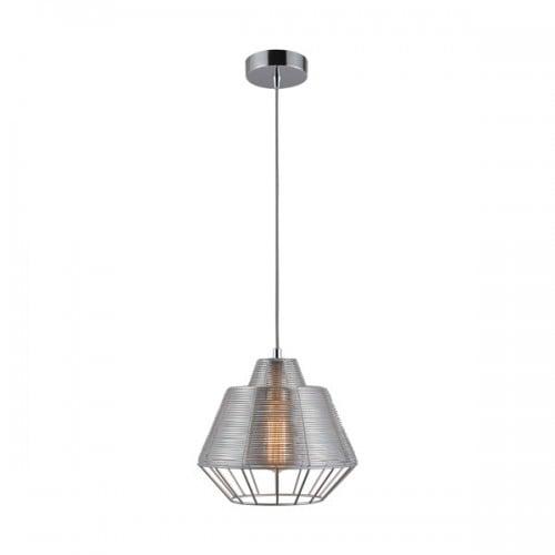 LAMPA WEWNĘTRZNA (WISZĄCA) ZUMA LINE WIRE PENDANT MD1712-1B-Silver