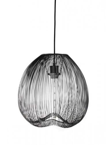 LAMPA WEWNĘTRZNA (WISZĄCA) ZUMA LINE CAGE PENDANT PL-15005-BK
