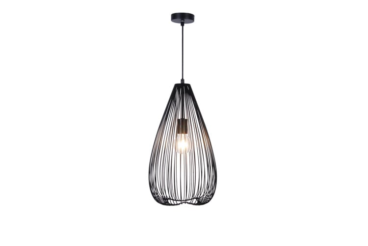 LAMPA WEWNĘTRZNA (WISZĄCA) ZUMA LINE SILVIA PENDANT HP1674-30-BL