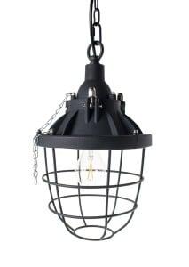 LAMPA WEWNĘTRZNA (WISZĄCA) ZUMA LINE INDUSTRIAL PENDANT PL-16080-BK