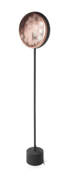 LAMPA WEWNĘTRZNA (PODŁOGOWA) ZUMA LINE HIVE FLOOR FL-16026-BK+BRCP