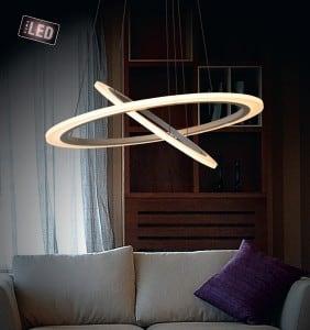 LAMPA WEWNĘTRZNA (WISZĄCA) ZUMA LINE FLAT CIRCLE PENDANT L-CD-660 small 1