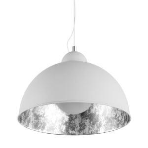 LAMPA WEWNĘTRZNA (WISZĄCA) ZUMA LINE ANTENNE PENDANT TS-071003P-WHSI (shade silver inside) small 0