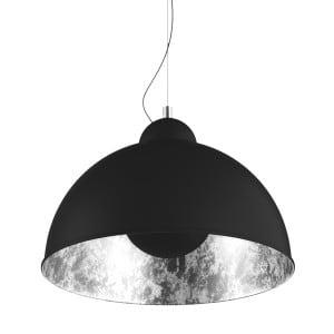 LAMPA WEWNĘTRZNA (WISZĄCA) ZUMA LINE ANTENNE PENDANT TS-071003P-BKSI (shade silver inside) small 0