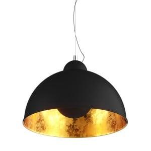 LAMPA WEWNĘTRZNA (WISZĄCA) ZUMA LINE ANTENNE PENDANT TS-071003PM-BKGO (shade gold inside)
