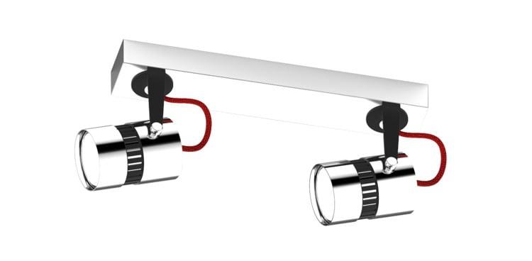 LAMPA WEWNĘTRZNA (SUFITOWA) ZUMA LINE SICA CEILING CK99892-2