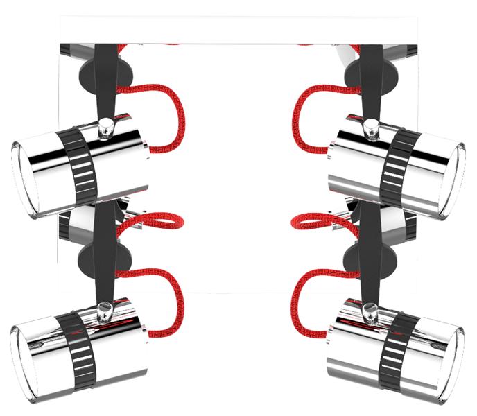 LAMPA WEWNĘTRZNA (SUFITOWA) ZUMA LINE SICA CEILING CK99892-4