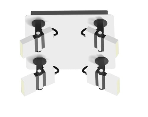LAMPA WEWNĘTRZNA (SUFITOWA) ZUMA LINE COSTA CEILING CK170208-4