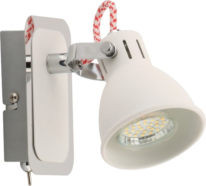 LAMPA WEWNĘTRZNA (KINKIET) ZUMA LINE RAVA SPOT CK100008-1