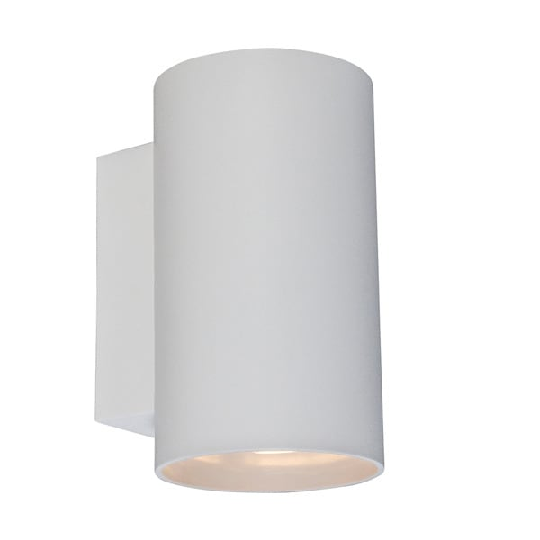 LAMPA WEWNĘTRZNA (KINKIET) ZUMA LINE SANDY WL ROUND WALL 92695 WHITE