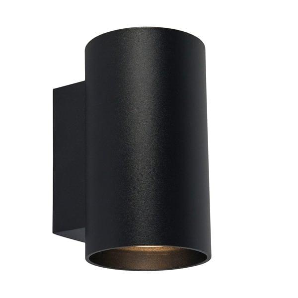 LAMPA WEWNĘTRZNA (KINKIET) ZUMA LINE SANDY WL ROUND WALL 92696 BLACK