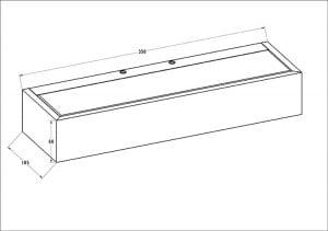 LAMPA WEWNĘTRZNA (KINKIET) ZUMA LINE HOUX WL 35 small 1