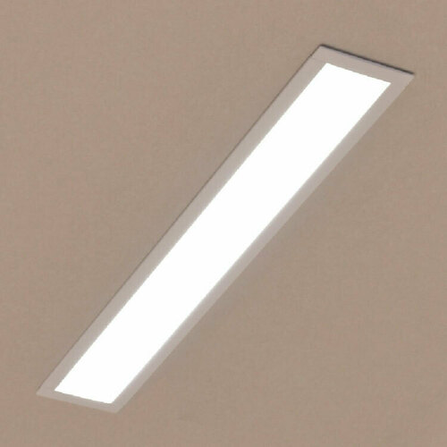 Liniowa lampa wpuszczana LUPINUS WPUST 120 L-1180 SP