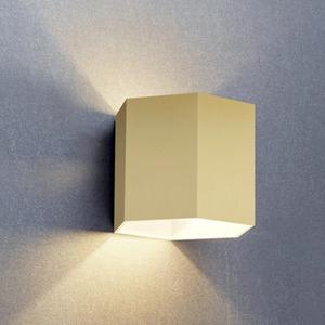 LAMPA WEWNĘTRZNA (KINKIET) ZUMA LINE POLYGON WL WALL 20070-GD small 0
