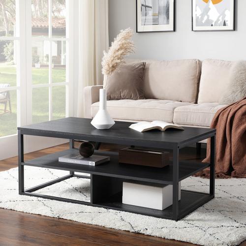 Nowoczesna ława/stolik kawowy czarny LCT501B01