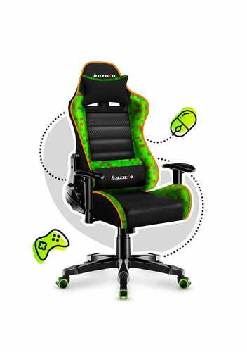 Ultra wygodny fotel gamingowy dla dziecka RANGER 6.0 Minepixel