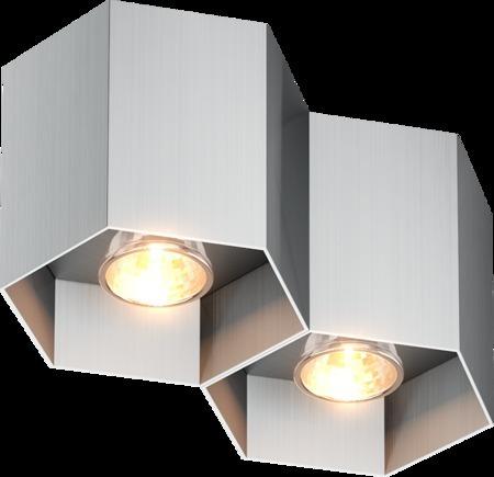LAMPA WEWNĘTRZNA (SPOT) ZUMA LINE POLYGON CL 2 SPOT 20036-AL ALU