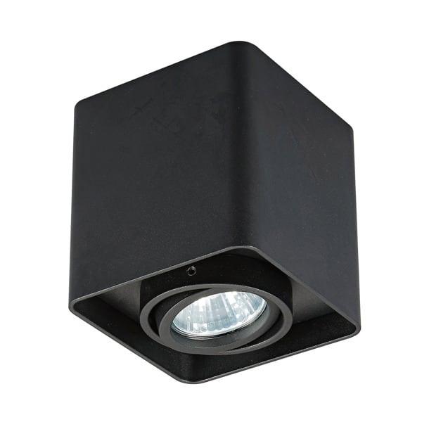 LAMPA WEWNĘTRZNA (SPOT) ZUMA LINE QUADRY SL 1 SPOT 20039-BK BLACK