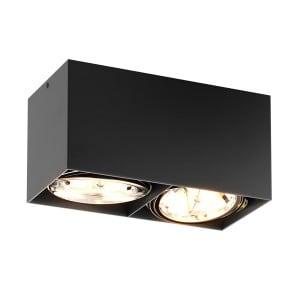 LAMPA WEWNĘTRZNA (SPOT) ZUMA LINE BOX SL 2 SPOT 90433 (black) - czarna small 0