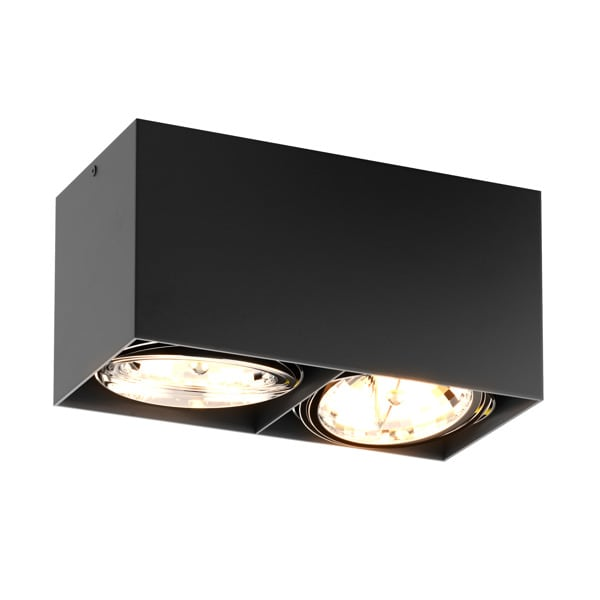 LAMPA WEWNĘTRZNA (SPOT) ZUMA LINE BOX SL 2 SPOT 90433 (black) - czarna