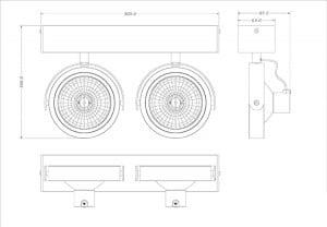 LAMPA WEWNĘTRZNA (SPOT) ZUMA LINE GO SL2 SPOT 50485 (black) small 1