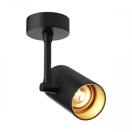 LAMPA WEWNĘTRZNA (KINKIET) ZUMA LINE TORI SL 1 20014-BK (black gold)