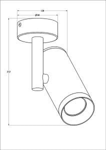 LAMPA WEWNĘTRZNA (KINKIET) ZUMA LINE TORI SL 2 20015-WH (white) small 1