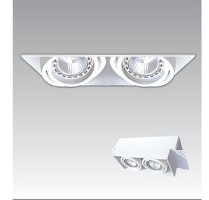 LAMPA WEWNĘTRZNA (SPOT) ZUMA LINE ONEON DL 50-2 SPOT 94362-WH small 1