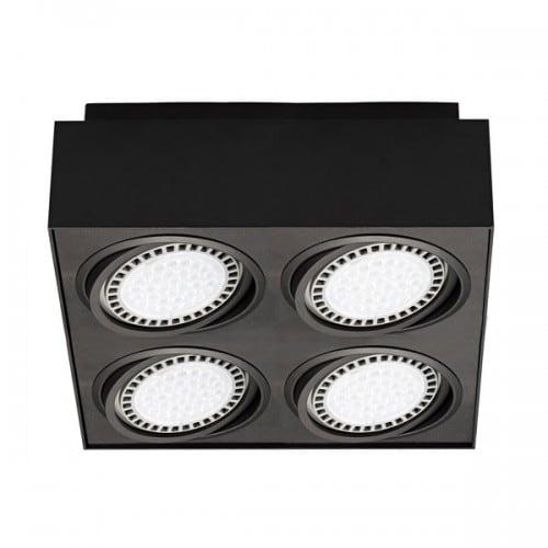 LAMPA WEWNĘTRZNA (SPOT) ZUMA LINE BOXY CL 4 SPOT 20076-BK