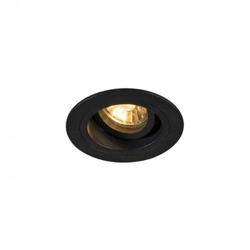 LAMPA WEWNĘTRZNA (SPOT) ZUMA LINE CHUCK DL ROUND 92700 (black)