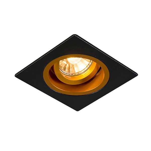 LAMPA WEWNĘTRZNA (SPOT) ZUMA LINE CHUCK DL SQUARE 92706 (black/gold)