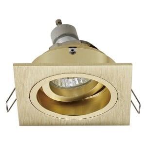 LAMPA WEWNĘTRZNA (SPOT) ZUMA LINE CHUCK DL SQUARE 92703-GD ZŁOTY/GOLD small 1