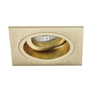LAMPA WEWNĘTRZNA (SPOT) ZUMA LINE CHUCK DL SQUARE 92703-GD ZŁOTY/GOLD small 0