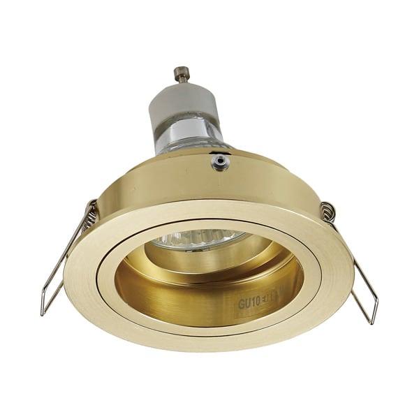 LAMPA WEWNĘTRZNA (SPOT) ZUMA LINE CHUCK DL ROUND SPOT 92699 GOLD