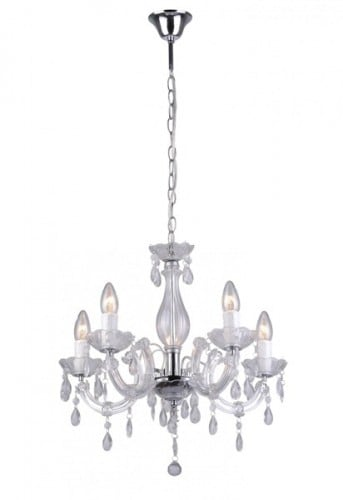 LAMPA WEWNĘTRZNA (WISZĄCA) ZUMA LINE MAGNOLIA PENDANT RLD94016-5A