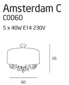 Amsterdam plafon mały C0060 Max Light small 1