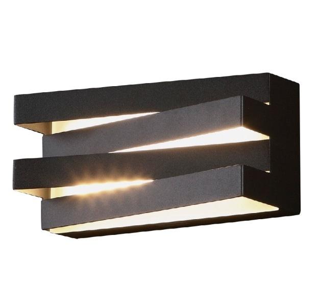 Araxa kinkiet czarny W0178 Max Light
