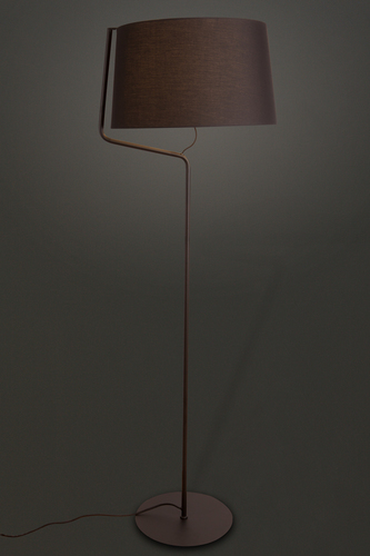 CHICAGO lampa podłogowa czarna F0036 Max Light